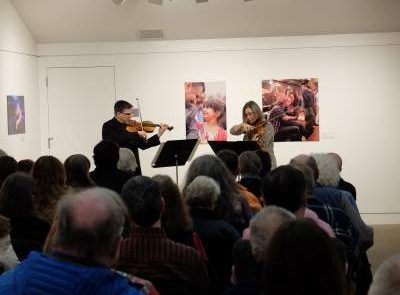 Kimberly and Robert Lehmann perform - Portland Conservatory of Music