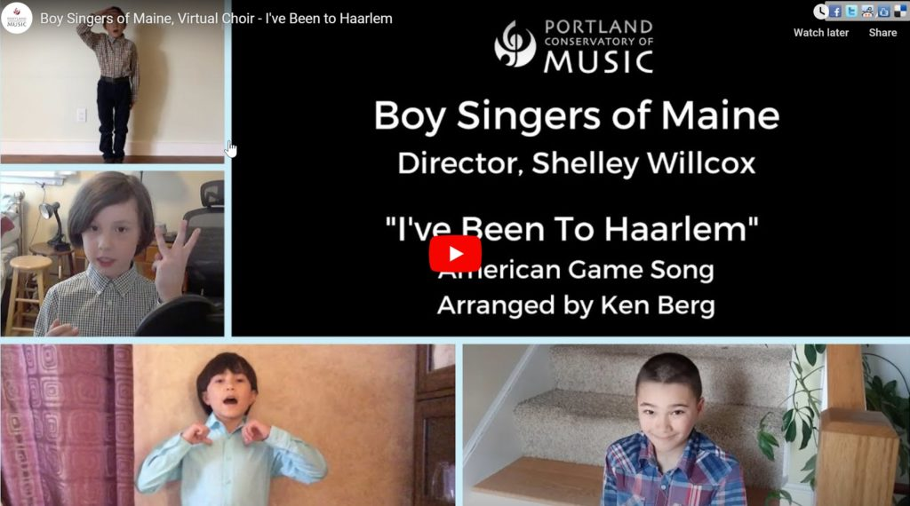 Boy Singers of Maine perform